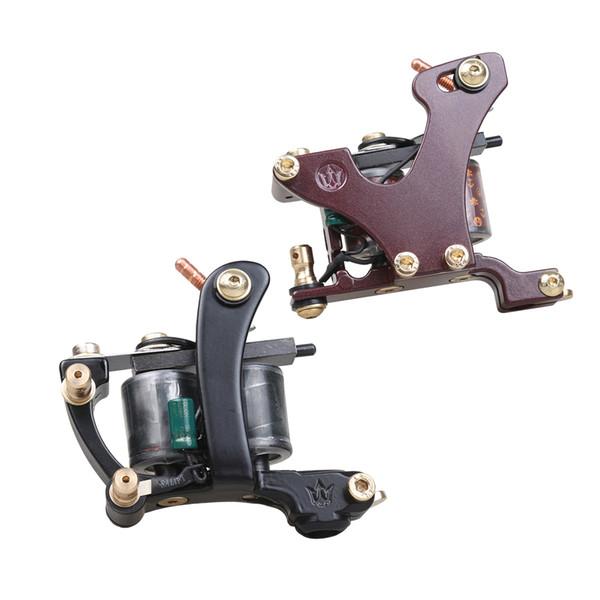 A Pair of Tattoo Guns Liner And Shader Tattoo Machines Alloy Frame Copper Coils Professional Guns WQ4445\49