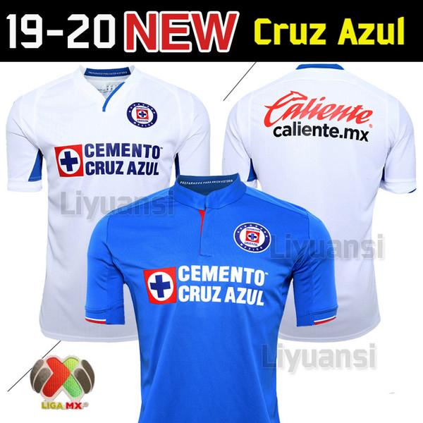 32399fbf471 Size S-XXL 2019 2020 Mexico Club Cruz Azul Liga MX Soccer Jerseys 19