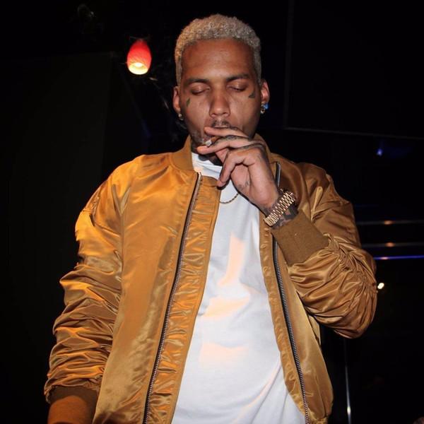 High Street Ins New Hip Hop Classique Bomber Justin Bieber Brouillard Oversize Or Argent Noir Vert Hommes Womem Coton Veste Manteaux