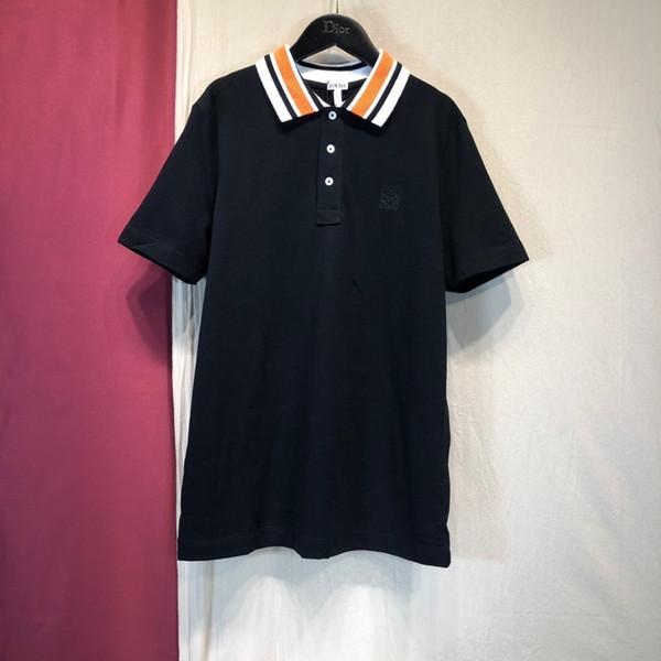 новая мужская футболка с короткими рукавами с коротким рукавом с коротким рукавом футболка превосходный дизайн дикий темперамент мужская хлопковая рубашка с короткими рукавами