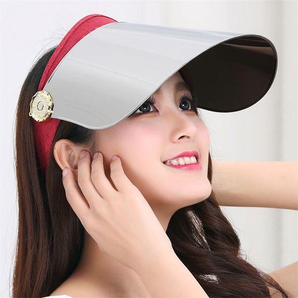 vision visor organizer summer transparent women plastic sun motorcycle helmet Cap men window Anti UV green