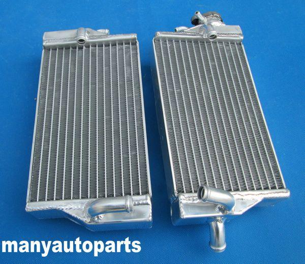 for HONDA CR125R 2002 2003 02 03 2-stroke aluminum alloy radiator new