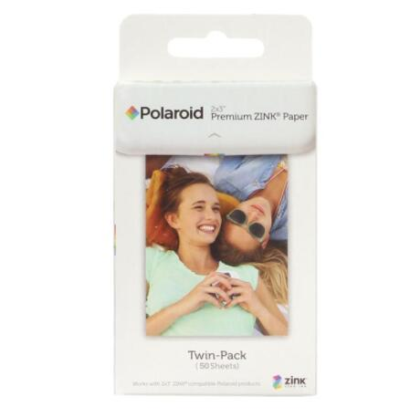 50 sheets Premium Ink Paper for Polaroid Instant Photo Camera Z2300 Snap touch / Zip Pinter / Socialmatic Instagram