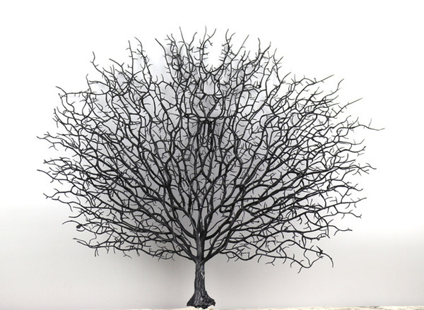 Plastic simulation peacock coral branch simulation indoor modern decorative branches home diy art decoration dead branches