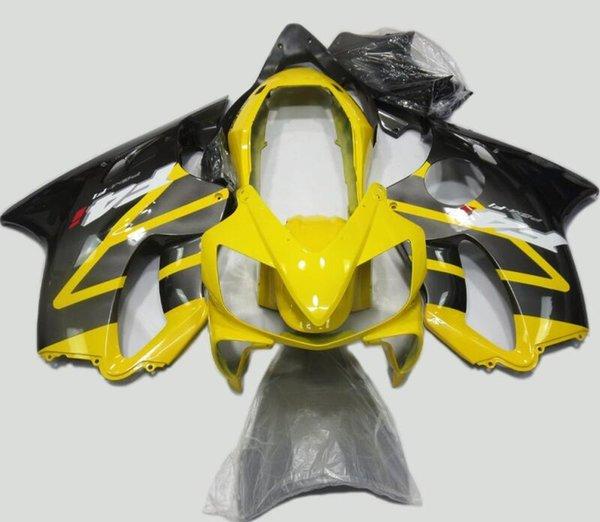 New Injection ABS Full Fairing kit Fit for HONDA CBR 600 F4i fairings 2004 2005 2006 2007 CBR600 FS F4i bodywork 04 05 06 07 yellow black