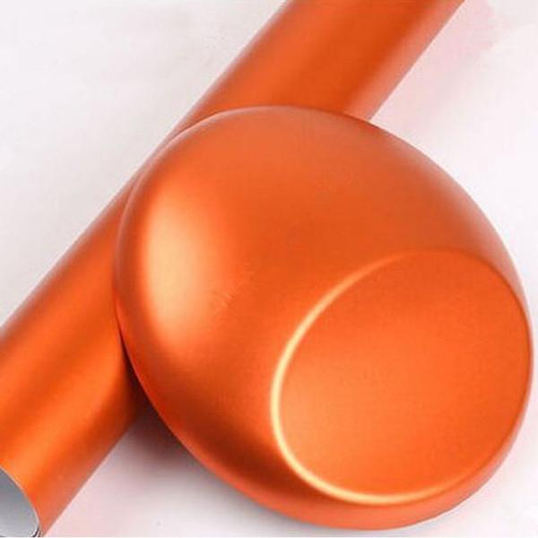 얼음 무광택 오렌지색