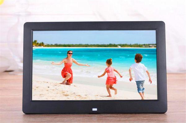 Display LCD digitale da 8 pollici Desktop digitale con cornice per foto Cornice digitale Cornice per foto con supporto calendario Tf Sd Flash Drive