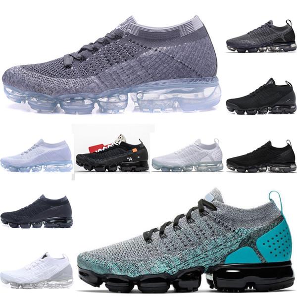 Nike air max 2019 Fly line Mens Tênis de corrida dom Almofada triplo preto branco Mulheres meia Esportes Jogging Chaussures SEJA VERDADEIRO formadores Tênis tamanho5.5-11 bi