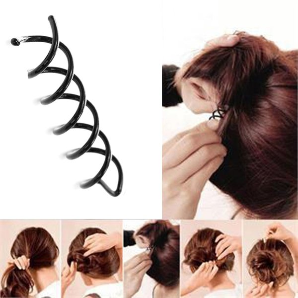NEW 10Pcs Hair Styling Tools Braiders Spiral Spin Screw Pin Hair Clips Twist Barrette Hairpins Hairdressing Clip G0315