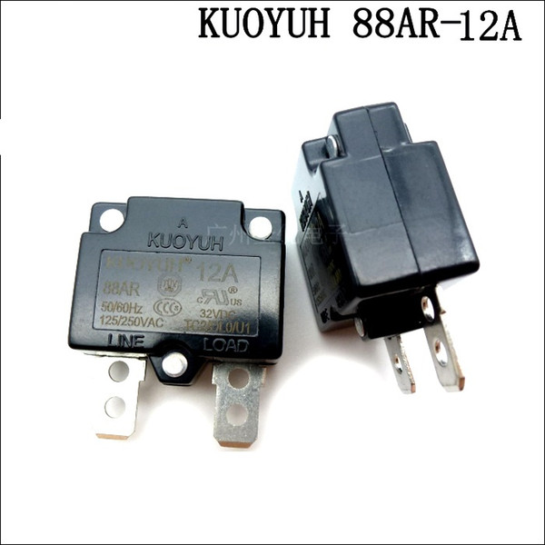 best selling Taiwan KUOYUH 88AR-12A Overcurrent Protector Overload Switch Automatic Reset