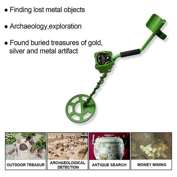 Hochleistungssuchmetalldetektor Underground Pinpointer Long Range Gold Schatzsucher Digger Erkennen Suchen Finden Goldmünze TS166A