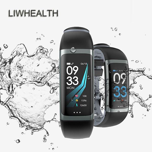 Color Life Smart Watch App Gps Hr/bp Health Fitness Smartwatch Band For Ios/huawei/xiaomi Montre Connect Men/women Pk Q8/q9 J190515