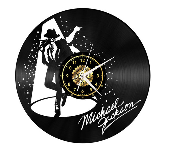 Free delivery handmade unique Mute Crafts Michael Jackson black Wall art Simple Retro Home Decoration kitchen Mother's Day Gifts for mother