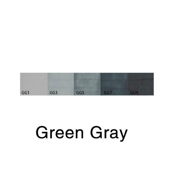зеленый серый