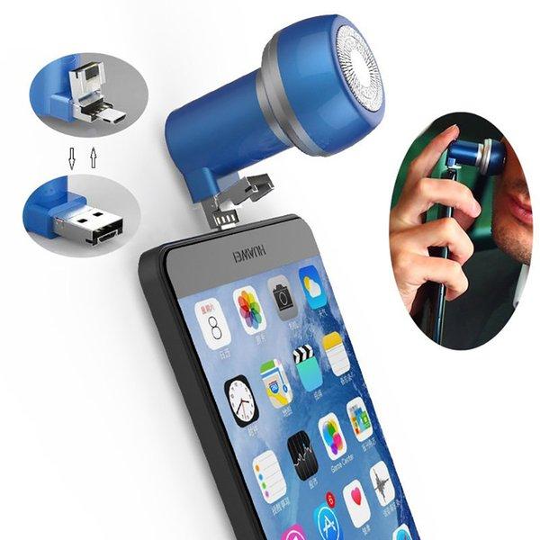 El zafiro azul-Micro + USB 2 en 1 Interfaz
