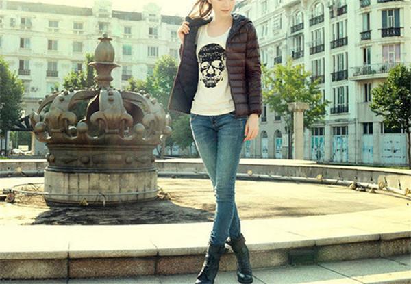 Solide Mit Reißverschlusstasche Frauen Baumwolle Gefütterte Jacke Mode Dünne Mit Kapuze Frau Kleidung Ladis Wintermäntel