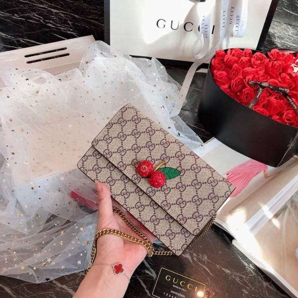 Shoulder Bag Fashion Brand Chain Small Bread Star Inclined Shoulder Bag 2019 European And American Popular New Women's Handb