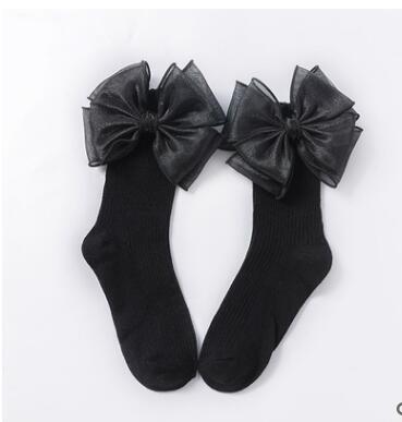 Black side lace