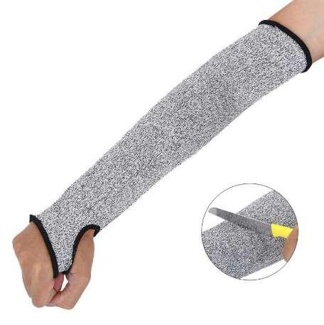 Level 5 Cut Resistant Arm Guard Unisex Self Defense Protective Gear  Workplace Safety Protection Anti Cutting Sleeve Football Forearm Sleeves  Arm Sock