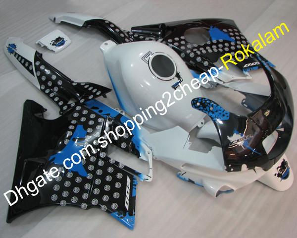 Motorbike Accessorie For Honda F2 CBR600 1991 1992 1993 1994 CBR 600 600F2 Decal Black White ABS Motorcycle Fairing Full set