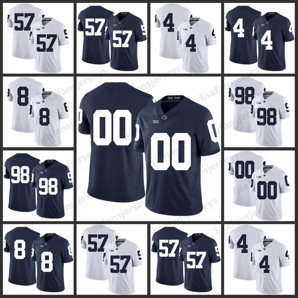 brand new 8c574 f564b 2019 Custom Penn State Nittany Lions Jerseys 57 A.Q. Shipley 4 Adrian Amos  8 Allen Robinson 98 Anthony Zettel Stitched College Football Jersey From ...