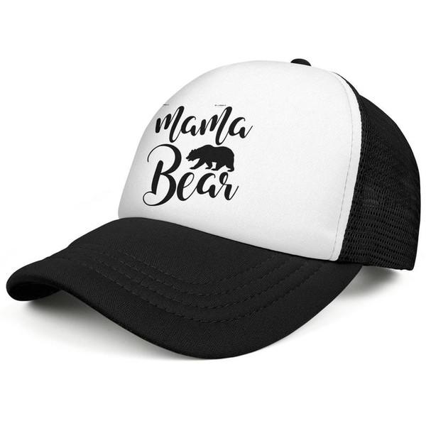Мама медведь семья Мама Миа beartown черные мужчины бейсбол плед шляпа дизайн подходит индивидуальный дизайн себя подходят команда мода персонализированные cap