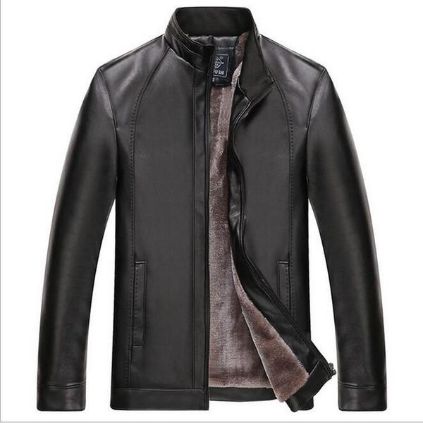 2019 Design Motorcycle Bomber Leather Jacket Mens Leather Jackets Men Jacket High Quality Classic Motorcycle Bike Cowboy Jackets
