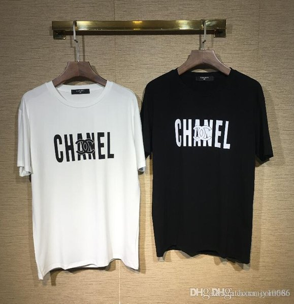19 Colors Brand MODE Full logo Letter Printed menT-shirt Short Sleeve women Hip Hop Street Outdoor wear Style Tops Tee T Shirt Homme