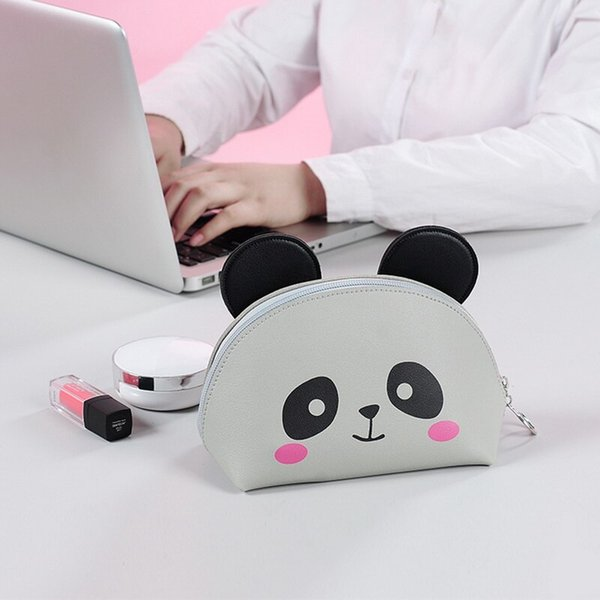Women Toiletry Bag Cartoon Cosmetic Bag Portable Cute Makeup Storage Cosmetic Pouch For Girl Portable Pouch