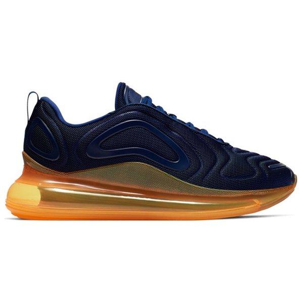 Midnight Navy Laser Orange