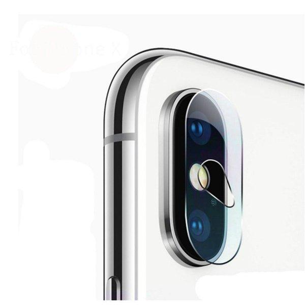 2 adet kamera lens ekran koruyucu de pantalla iphone x 10 için iphonex için temizle arka kapak telefon lens temperli cam