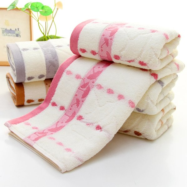 Хлопковое Полотенце из бамбукового волокна капли дождя Маленький зонтик мягкое подарочное полотенце Утолщает Влагопоглощение Лицевое полотенце Домашний Текстиль Бесплатно DHL FA1914