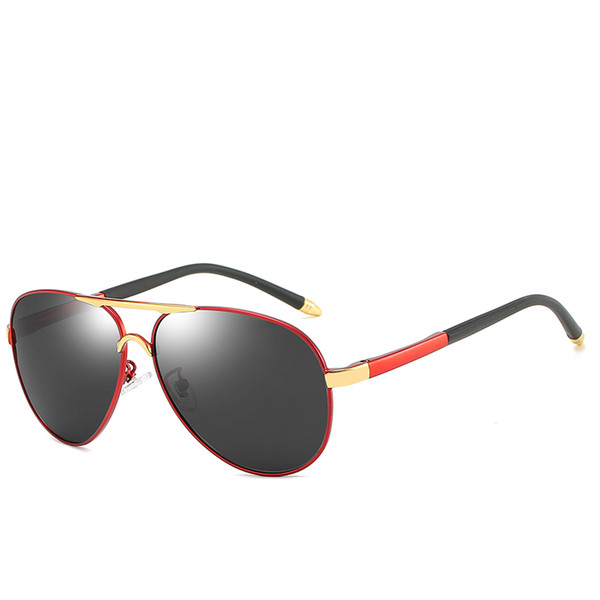 Kadın erkek Polarize Güneş Gözlüğü retro Erkek Polarize Güneş Gözlüğü erkek Açık Güneş Gözlüğü high-end İş Gözlükleri Sürücü Gözlükleri
