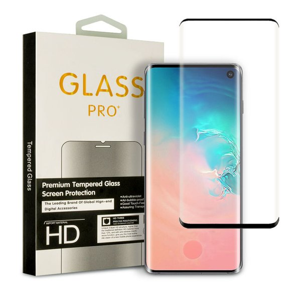 Tempered gla creen protector 3d curved film ca e friendly for am ung galaxy note 10 10 10e 9 8 plu 7 edge