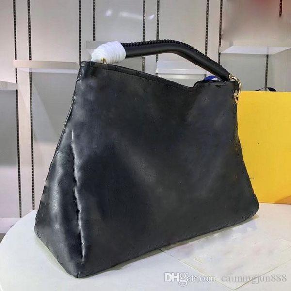 100%real leathe Designer Bags MONTAIGNE Tote Women Leather Shoulder Bags purse Floral Handbags Crossbody big shopper Bag Business Laptop bag