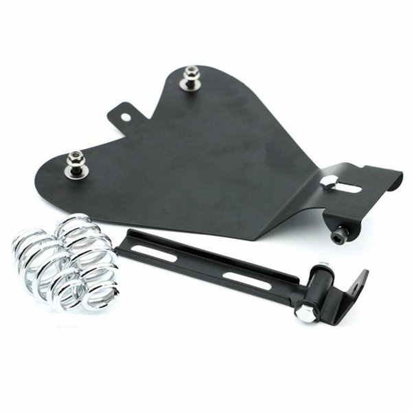 Motorcycle Black Metal Solo Seat Baseplate For Sportster XL883/1200