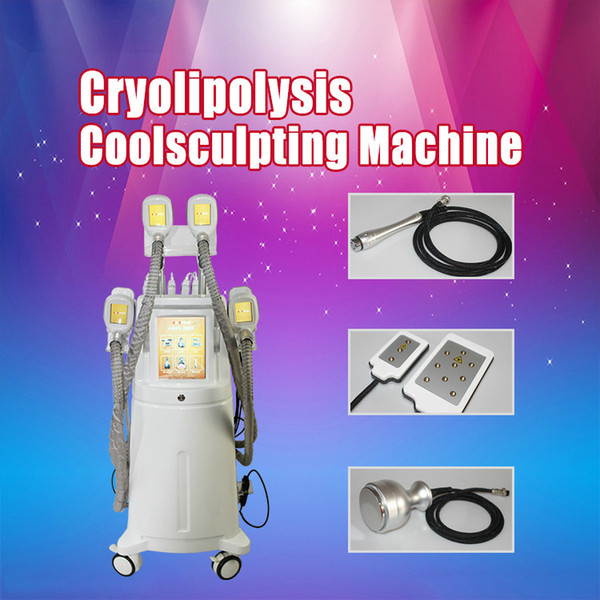 Top Chinese Cryolipolysis Machine High Energy Lipo laser Cavitation RF Slimming Effective Cool Body Sculpting Weight Loss Fatty Treatment