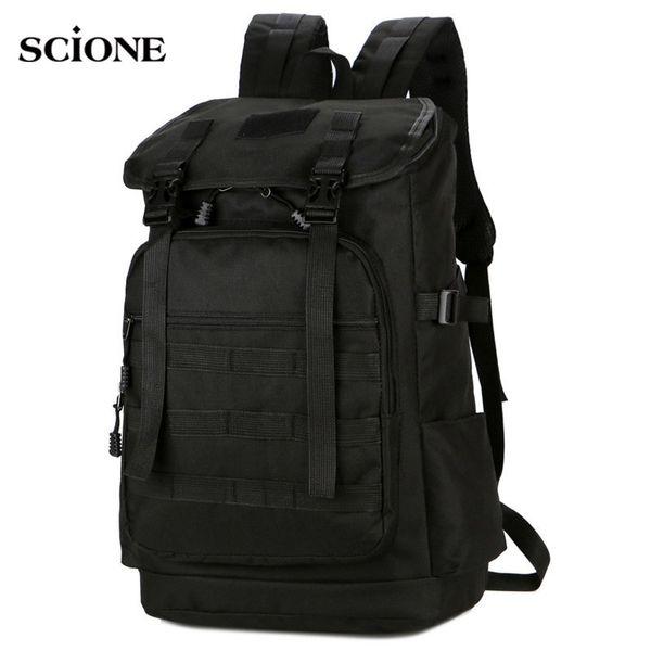 New 100L Nylon Rucksack Backpack Travel Bag Climbing Camping Hiking Luggage Bag