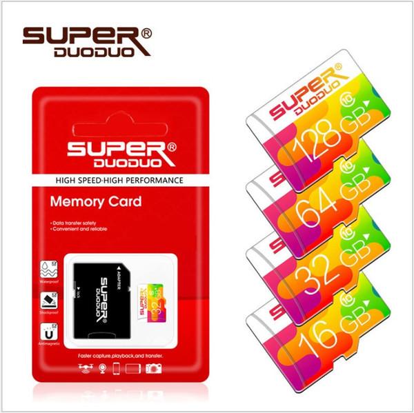 High Speed TF Memory Card 128GB 64GB 32GB 16GB C10 Flash SD Card 8 16 32 64 128 GB sd cards For Smartphone Camera new