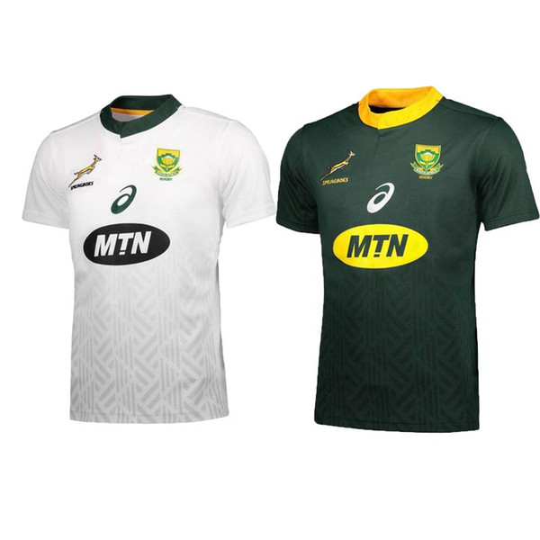 9d6016e5a 2018 2019 South Africa Home and away Jersey shirt Springboks South African  national team rugby jerseys shirts s-3xl