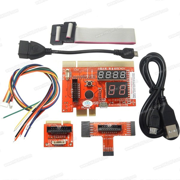 PCI PCIE LPC Mini PCI-E Analyzer Type B Card KQCPET6-V6-170410 for PC Laptop Android Phone Tester freeshipping