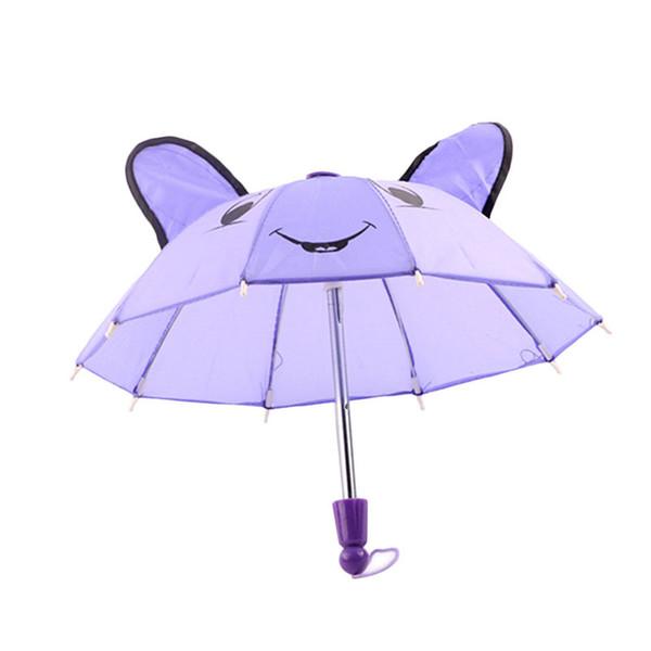 Mignon beaux accessoires Parapluie pour enfants Cadeaux de filles Convient pour 18inch American Girl Doll XH8Z JA10