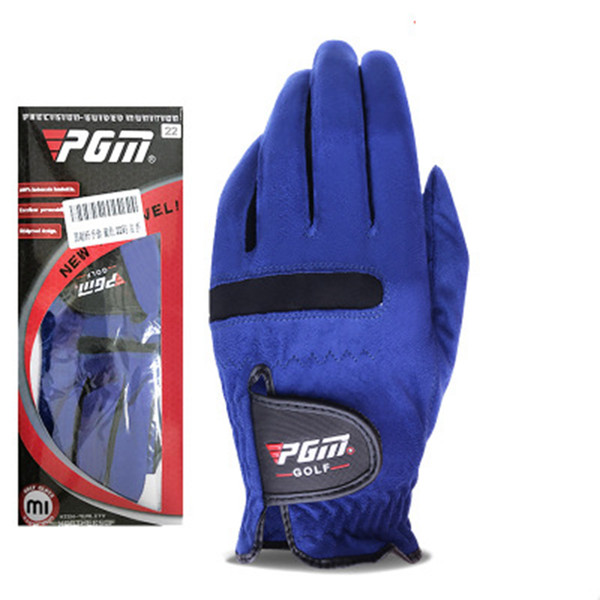 top popular Golf Gloves Superfiber Male Outdoor Sport Glove Tensile Fabric Elastic Force Not Tight Ventilation Fast Drying Magic Gloves ZZA872 2021