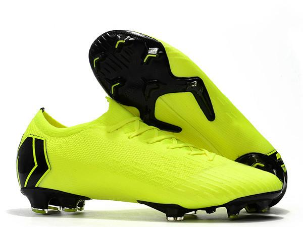 2019 Mens Low Ankle Football Boots CR7 Mercurial Vapors Frenzy XII Elite FG Soccer Shoe Superfly VII V5 Neymar ACC Soccer Cleats 19