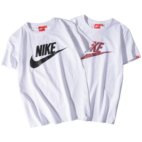 2019 verão novos homens e mulheres T-shirt em torno do pescoço de impressão de manga curta T-shirt grátis shipping054