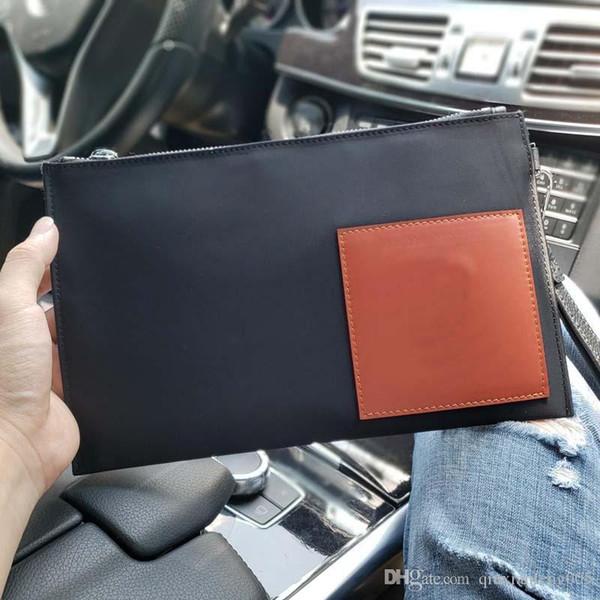 Romanzo moda uomo portafoglio designer marca lusso in pelle limite superiore qualità creativa borsa di lusso grande portafoglio spedizione gratuita NB: 190330 +8