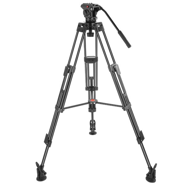 Neewer Professional Heavy Duty Video Camera Tripod 64 inches/163 centimeters Aluminum Alloy with 360 Degree Fluid Drag Head