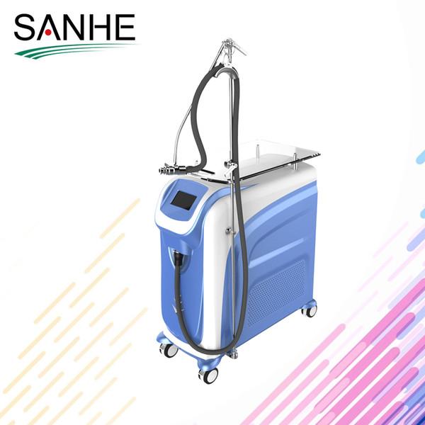 2019 melhor máquina de refrigeração de ar venda Sanhe beleza Zimmer para a pele de refrigeração para reduzir a dor com ce