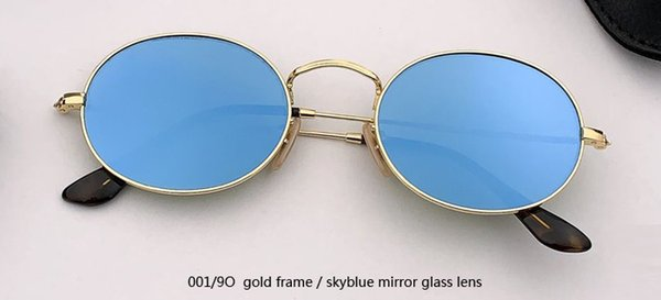 001 / 9O الذهب / بوي عدسة مرآة الزجاج