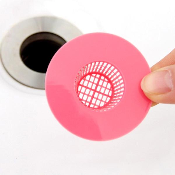 ccessories for bathroom Bathtub Hair Stopper Shower Drain Hole Filter Trap Plastic Sink Strainer for Bathroom Accessories Shower Stall Fl...